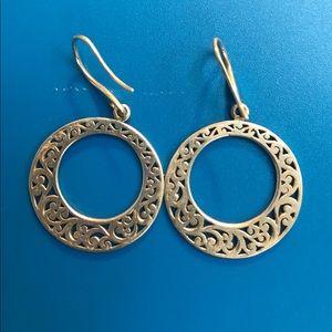 **SOLD** Lois Hill 925 Sterling Silver Earrings